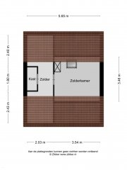 Plattegrond Johan Jongkindstraat 35 ALMELO