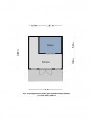 Plattegrond Picardiehof 11 EINDHOVEN