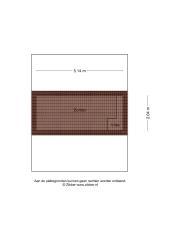 Plattegrond Nijensteinheerd 126 GRONINGEN