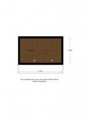 Plattegrond Braillehof 4 HOOGEVEEN