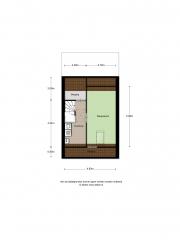 Plattegrond Pompidousingel 16 EDE