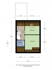 Plattegrond Fivershof 38 EE