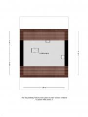 Plattegrond Duivenslagstraat 12 HOOGEVEEN