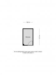 Plattegrond Kruisberg 153 ETTEN-LEUR