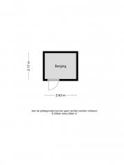 Plattegrond Hoogstraat 18503 EINDHOVEN