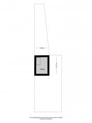 Plattegrond Verenigingstraat 75 ZWOLLE