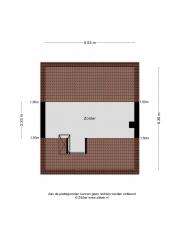 Plattegrond Nicolaas Beetsstraat 14 ALMELO