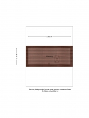 Plattegrond Rondeel 13 ALMELO