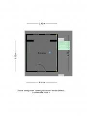 Plattegrond Van Musschenbroekstraat 604 ENSCHEDE