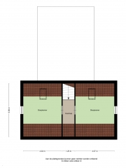 Plattegrond Dorpsstraat 21 VRIESCHELOO