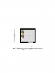 Plattegrond Rozengaard 15 34 LELYSTAD